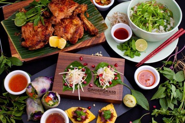 GINGER GRASS modern thai vietnamese4
