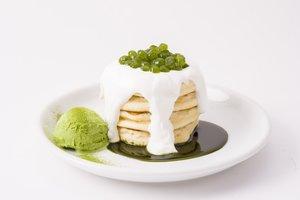 Tapioca Pancake Matcha