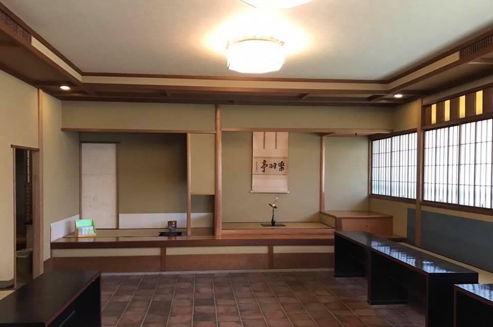 新宿御苑 茶室5