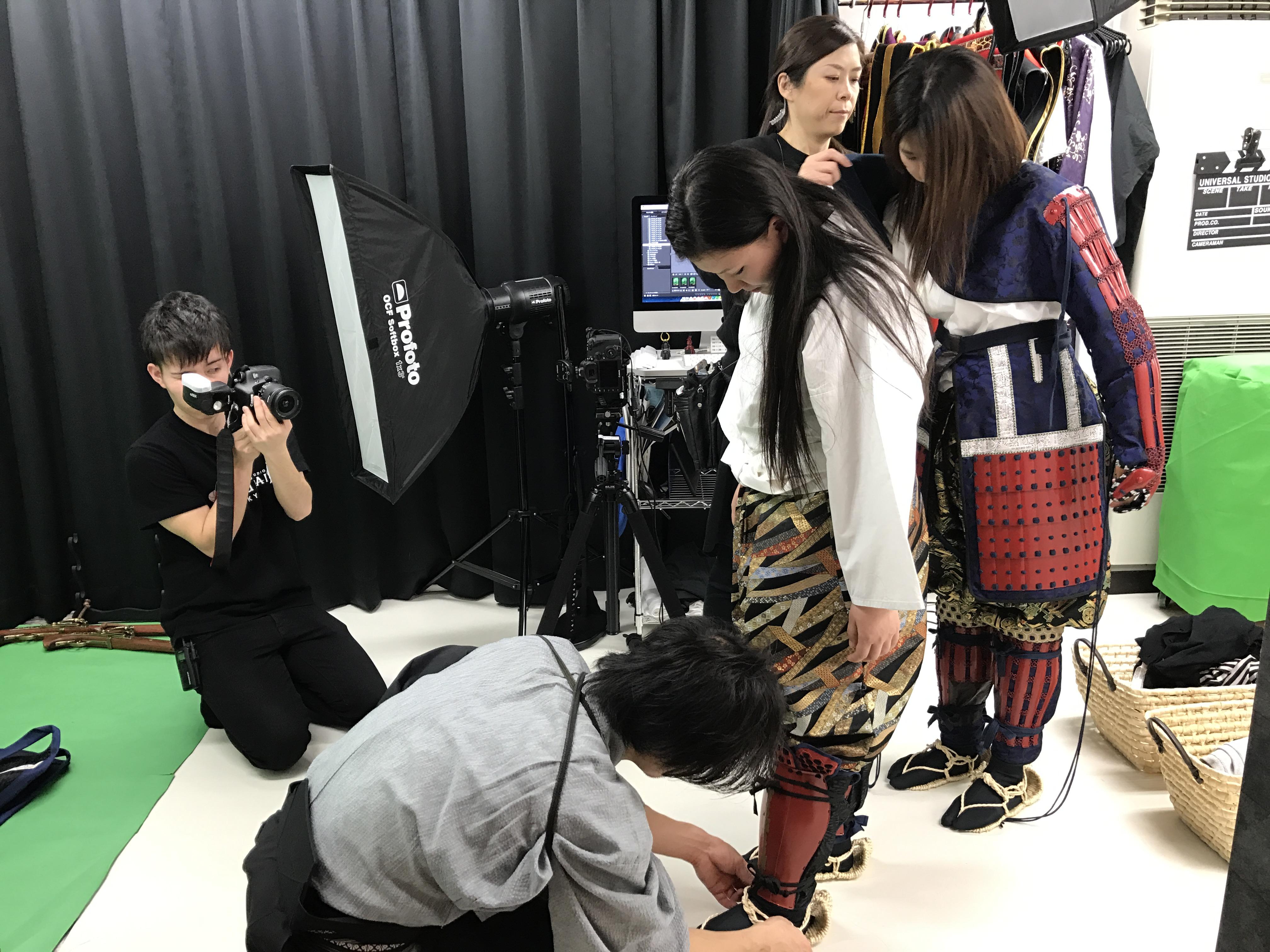 戦国フォトスタジオ SAMURAI4