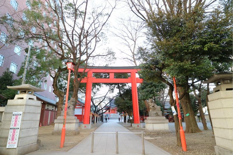 新宿花園神社1