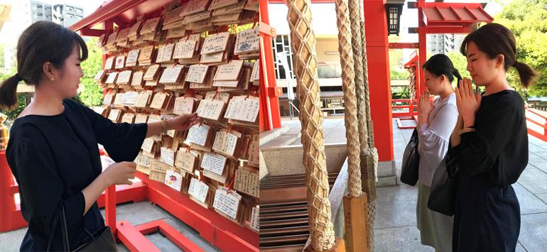 新宿花園神社