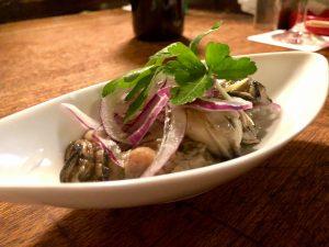 どん底 牡蠣のオイル漬け
