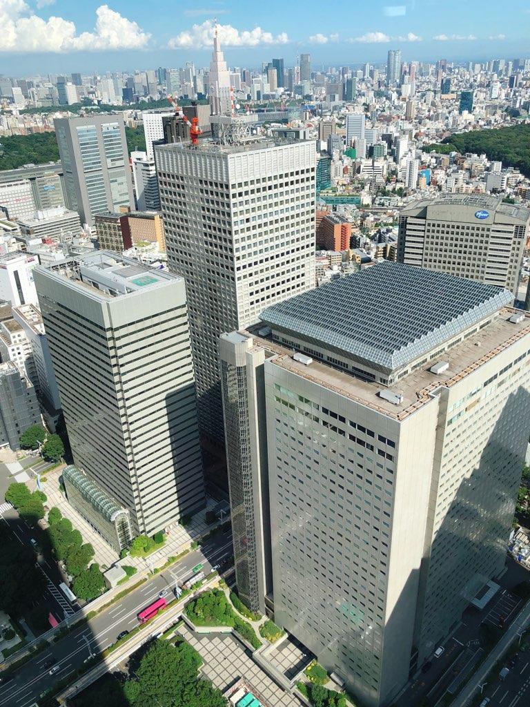 東京都庁展望室3