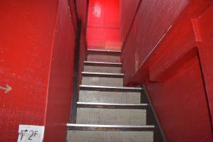 砂の城の階段