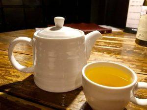 赤丸ヂンギスお茶