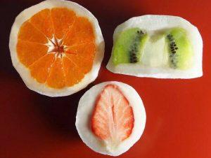 花園饅頭フルーツ饅頭3種中身
