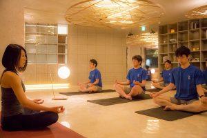 瞑想・マインドフルネス風景
