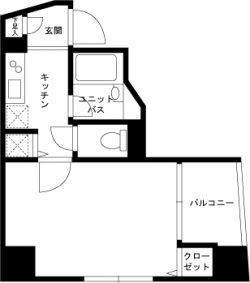 スカイコート神楽坂弐番館(TypeA)