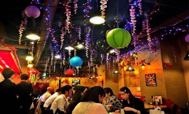 中国茶坊8 新宿店 店内