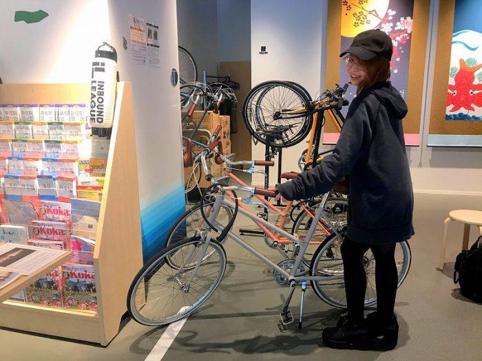 INBOUND LEAGUE 自転車選定