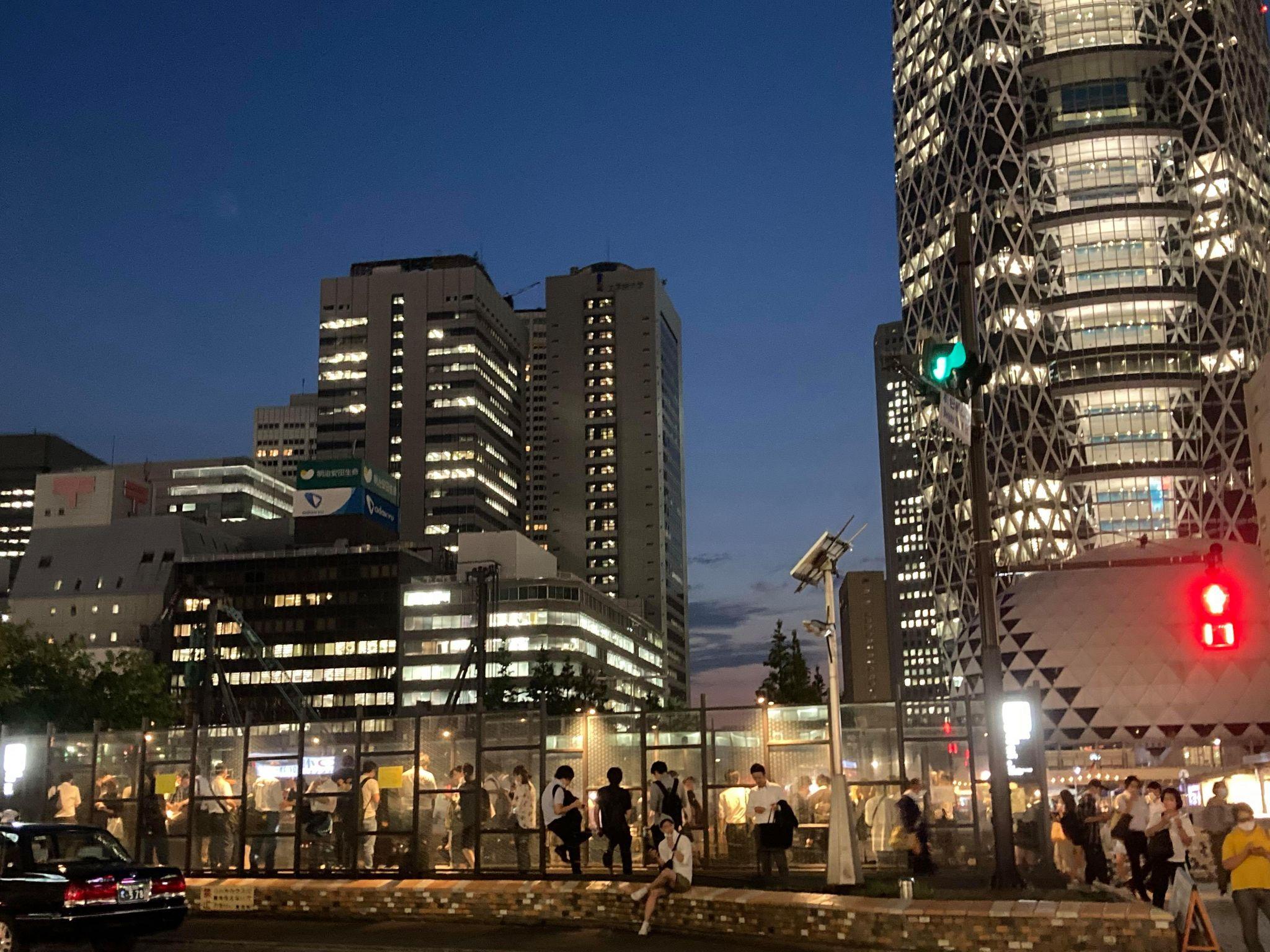 新宿駅西口喫煙所
